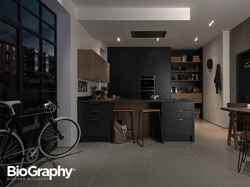 BioGraphy Style Industrial Kitchen