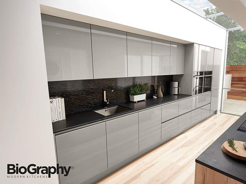 Porter gloss cupboards