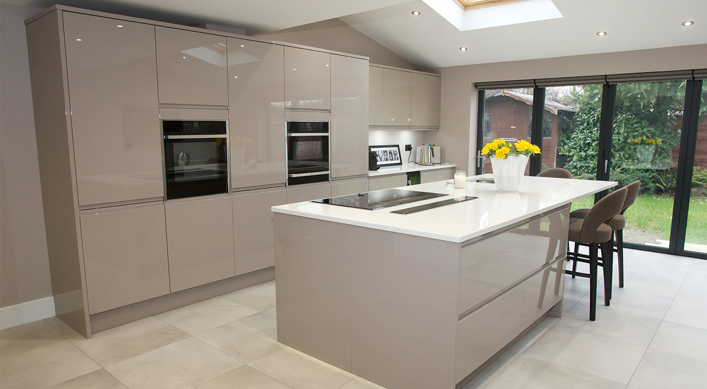 What Is A Kitchen: Handleless Kitchen, Remo Stone Grey, Fineline Interiors