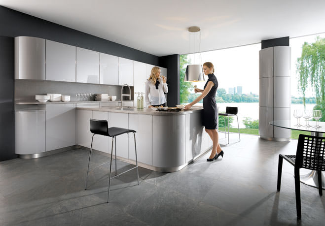 gala stone grey kitchen