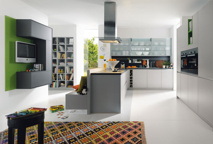 stone grey kitchen